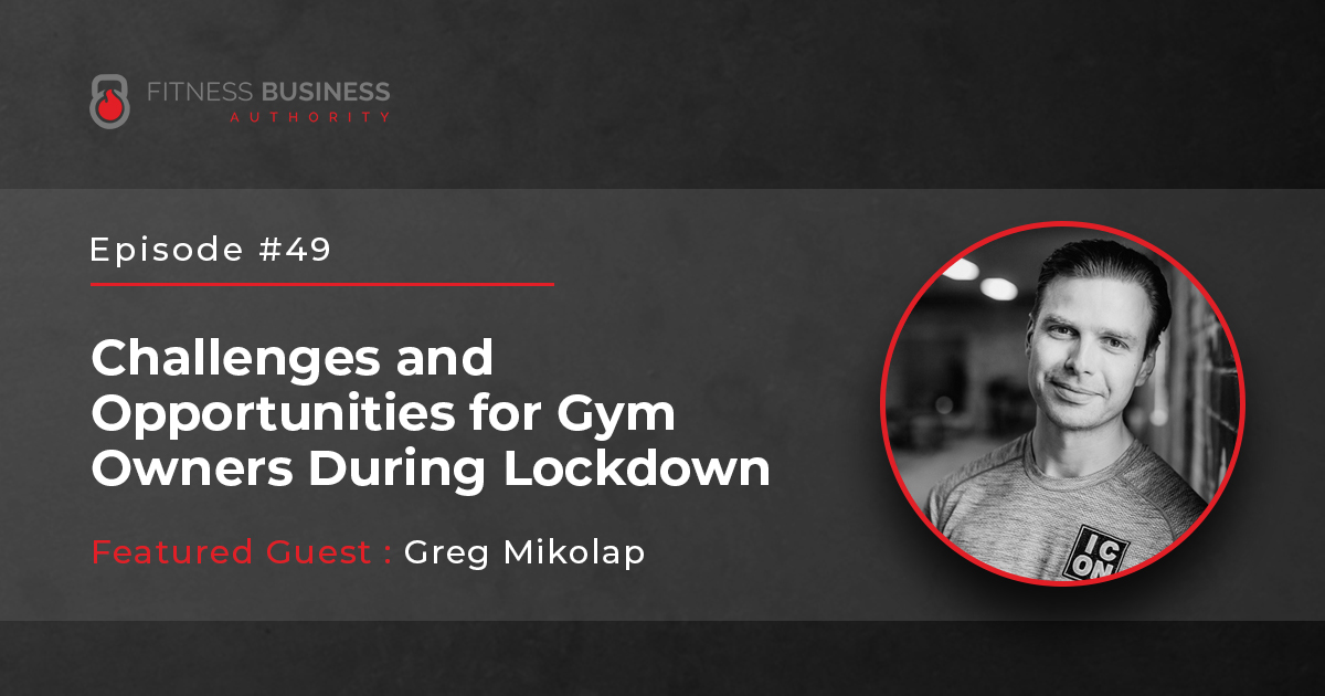 FBA Podcast - Greg Mikolap - 48